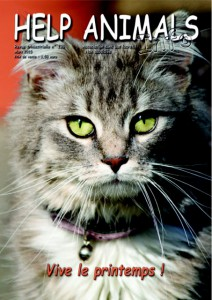 Couverture revue Help Animals Mars 2015
